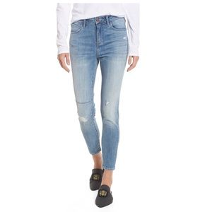 Treasure & Bond Charity High Rise Ankle Jeans